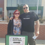 We voted for Bernie