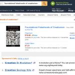 Sponsored links for creationism