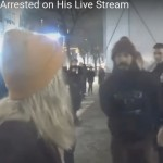 "Unlawful Arrest of Shia LaBeouf for responding to ""Fighting Words"" from a Neo-Nazi"