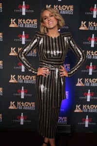Britt Nicole on the K-Love Fan Awards red carpet. Image by LeAnn Hamby