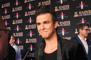 Ben Calhoun of Citizen Way on the K-Love Fan Awards red carpet. Image by LeAnn Hamby