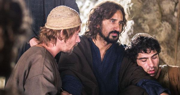 Cliff Curtis plays Yeshua in Risen. Image courtesy of Sony/Affirm Films.