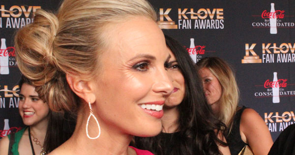 Elisabeth Hasselbeck co-hosted the KLOVE Fan Awards with Matthew West. Image by LeAnn Hamby