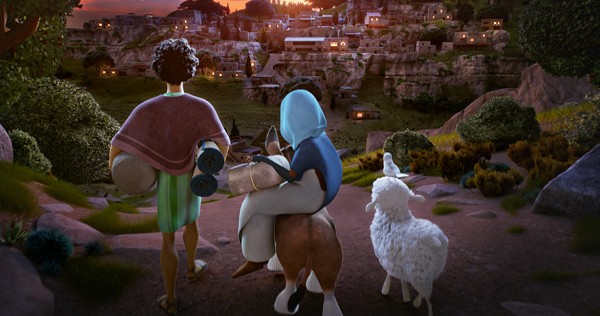 The Star from Sony Animation Pictures is an animated take on the Nativity featuring the voices of Oprah Winfrey, Tyler Perry, Steven Yeun, Patricia Heaton, and many more. Image courtesy of Sony Pictures Animation