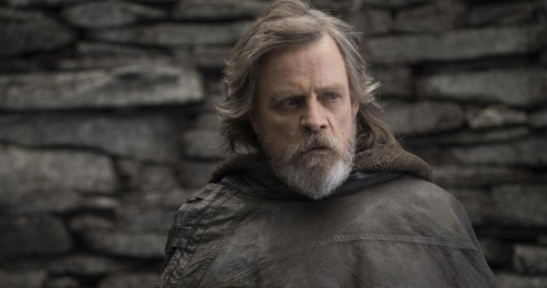 Mark Hamill stars as Luke Skywalker in 'Star Wars: The Last Jedi,' releasing December 22. Image courtesy of Disney/Lucasfilm.
