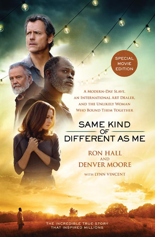 Thomas Nelson recently released a movie tie-in version of 'Same Kind Of Different As Me' by Ron Hall and Denver Moore. Image courtesy of Thomas Nelson Publishers.