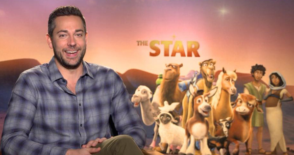 Zachary Levi plays Joseph in the animated film 'The Star,' releasing Nov. 17 from Sony Animation/AFFIRM Films.