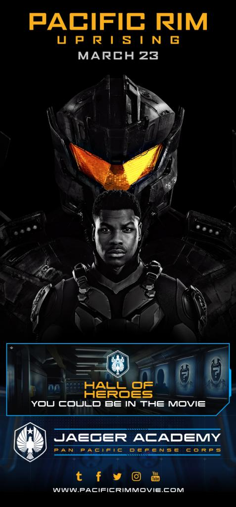 Pacific Rim Uprising starring John Boyega arrives in theaters March 23 from Legendary and Universal Pictures. Image courtesy of Universal Pictures.