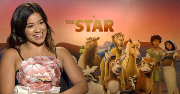 Gina Rodriguez plays Joseph in the animated film 'The Star,' releasing Nov. 17 from Sony Animation/AFFIRM Films. Image courtesy of Sony Animation. © 2017 CTMG, Inc. All Rights Reserved