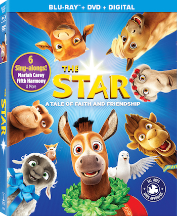 The Star from Sony Animation/AFFIRM Films will release on digital outlets on Feb. 6 and Blu-Ray and DVD on Feb. 20. Image courtesy of Sony Animation.