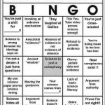 Science-Denier Bingo