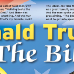 Mad Comparison of the Bible and Donald Trump