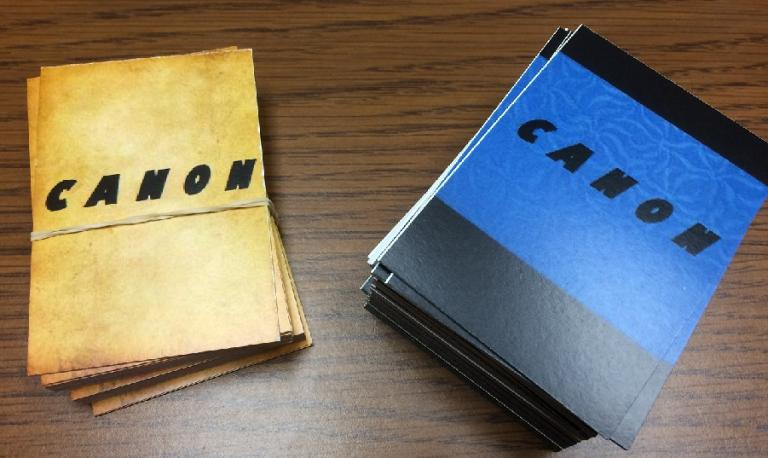 Canon cards