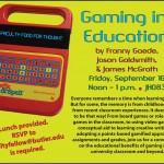 Gaming in Education at Butler University
