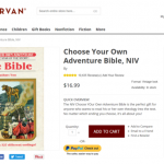 Choose Your Own Adventure Bible