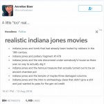 Realistic Indiana Jones Movies
