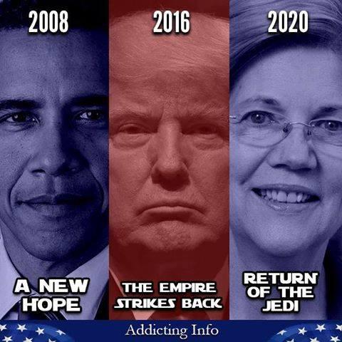 Trump Empire Strikes Back