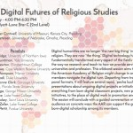 Digital Futures of Religious Studies at #AARSBL16