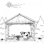A Nativity Minus the Migrants and Middle-Easterners