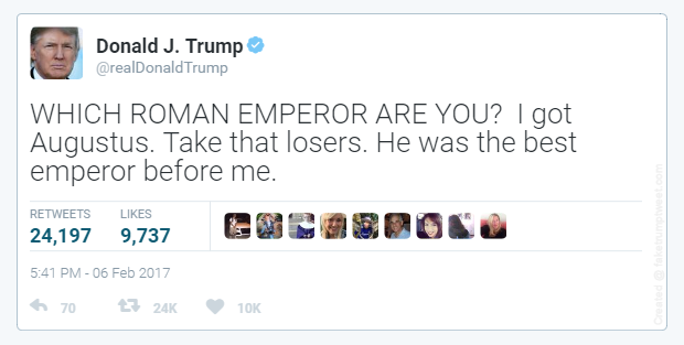 Trump which Roman emperor are you