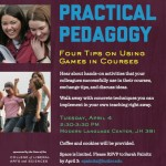 Games and Pedagogy