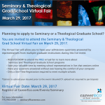 Seminary & Theological Grad School Virtual Fair