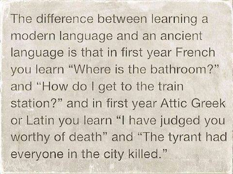 Learning Ancient Greek as a Spoken Language