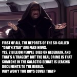 More Fake News in a Galaxy Far Far Away