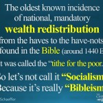 Redistributing Wealth the Biblical Way