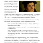 The Significance of the Protestant Reformation, 500 Years Later