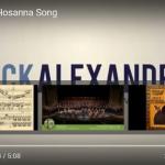 Singing Hosanna