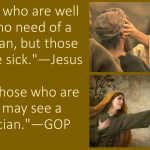 Jesus vs. the GOP