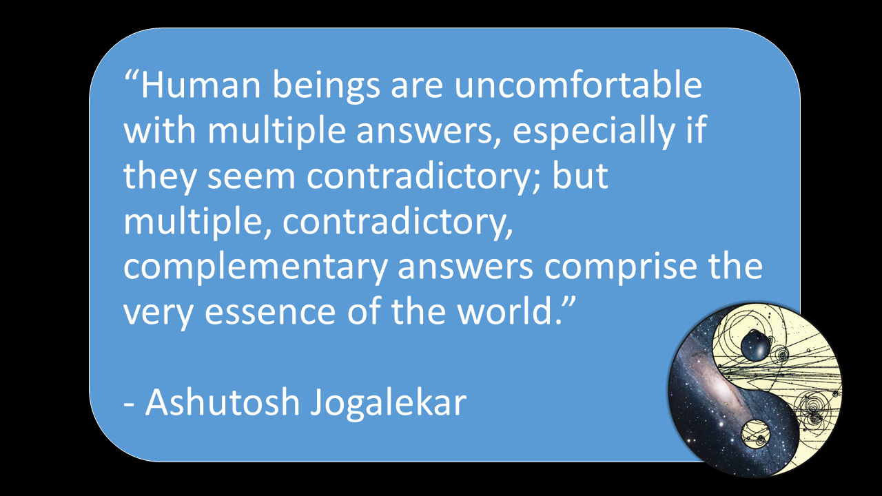 Uncomfortable with Contradiction