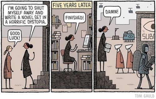 Cartoon by Tom Gauld