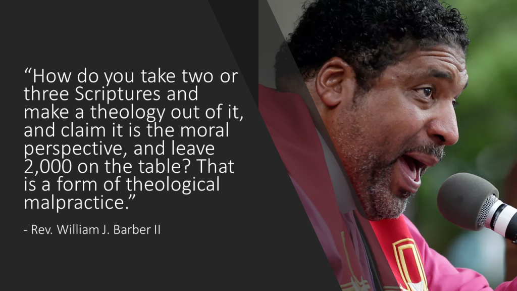 Barber Spiritual Malpractice Quote