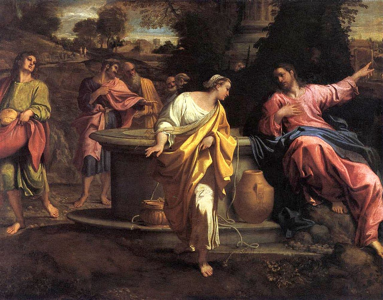 Annibale Carracci, The Samaritan Woman at the Well.