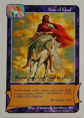 Son of God card