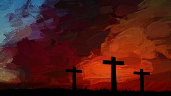 painting-print-of-three-crosses