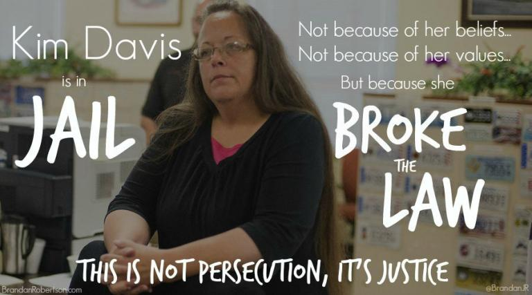 "kim davis and the right to religious freedom The virginia house of delegates on feb 16, 2016, approved a ""kim davis"" religious freedom bill that critics contend would allow anti-lgbt discrimination in the state."