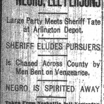 The Lynching of Ell Persons