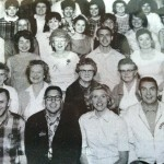 Esther Dahlstrom: third from the left, 2nd row, staff pic from 1967