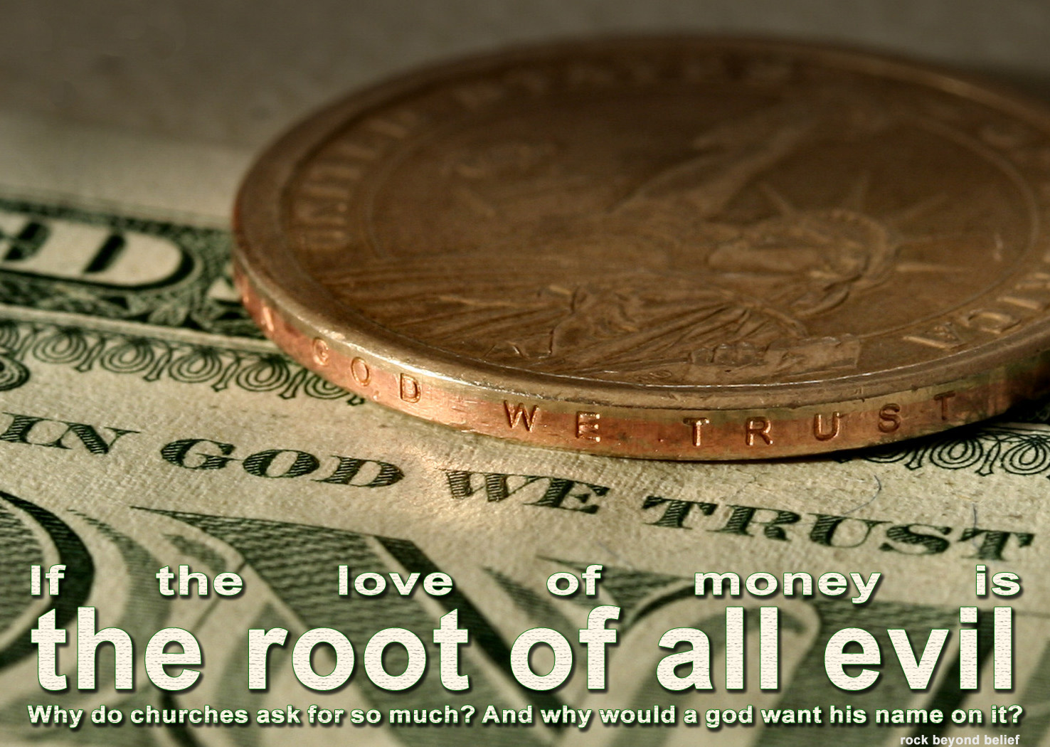 essay on the love of money is the root of all evil