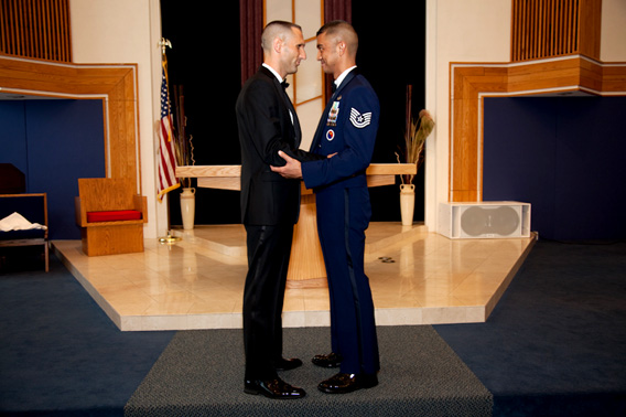 Gay air force wedding