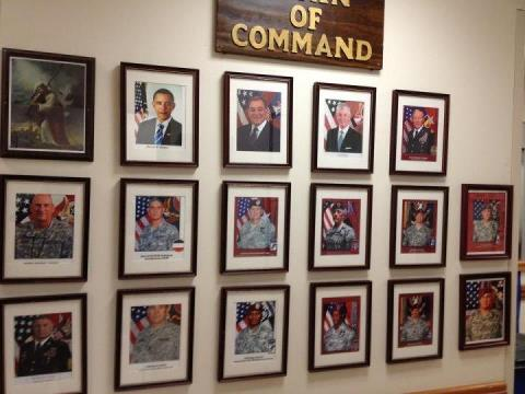 What is the U.S. Army chain of command?