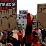 Atheists protest at Comic Con