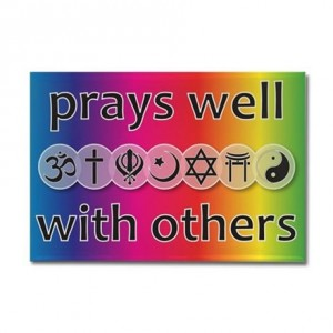 prays_well_with_others_rectangle_magnet