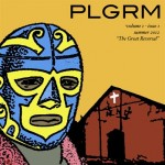 PLGRM cover designed by Ryan Kemp-Pappan