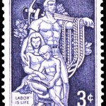 U.S. Labor Day Stamp