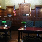 A courtroom in Sarasota, Florida. (Credit: Clyde Robinson, CC license.)