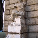 "Long ago, in Rome, citizens made their displeasure known to their leaders by use of, among other things, ""talking statues""--for many centuries, they've been plastering critical notes, poetry, and tirades to the base of these statues. Now we have to make do with Reddit. (Credit: ""Pasquino 1"" by Lalupa - Own work. Licensed under Public Domain via Wikimedia Commons.)"